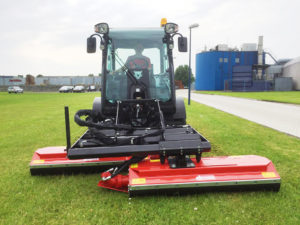 multihog with mower attachments