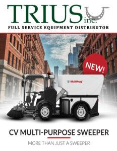 Multihog CV multi-purpose sweeper - Trius Inc