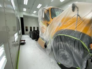 Trius Inc. Paint Booth, Bethlehem location