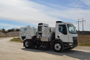 TYMCO street sweeper, sold by Trius Inc